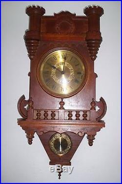0003-German triple chime Westminster, St. Michael, Whittington wall clock