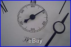 0007-Kieninger triple chime Westminster, St. Michael, Whittington wall clock