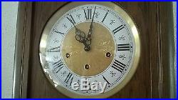 0028-German Jauch triple chime Westminster, St. Michael, Whittington wall clock