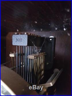 0098-German triple chime Westminster, St. Michael, Whittington wall clock