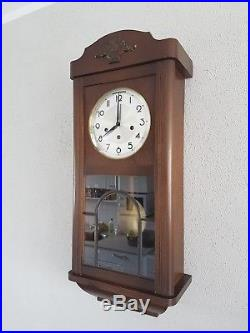 0107-German Ave Maria and Westminster chime wall clock