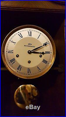 0138- French Odo Westminster chime wall clock