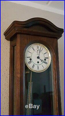 0152- Kieninger German Westminster chime wall clock