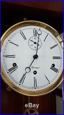 0158 Very rare Kieninger Westminster chime on 5 BELLS