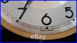 0159 German LFS Hermle Westminster chime wall clock