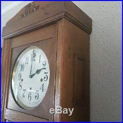 0240 Very rare Lorenz Furtwängler and Son LFS Westminster chime wall clock