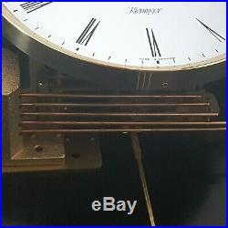 0262- German Kieninger Westminster chime wall clock