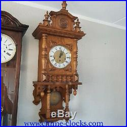 0285 German Hermle triple chime -Westminster, St. Michael, Whittington clock