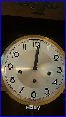 0300 German Ave Maria and Westminster chime wall clock
