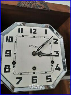 0328 French Vedette Westminster chime wall clock NOT Odo