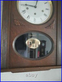 0340 French Odo Westminster chime wall clock