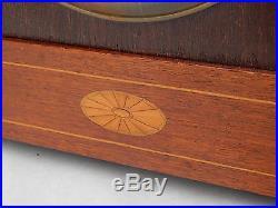 1910s Antique Jungrans A13 Movement Mantel Shelf Clock Bracket Westminster Chime