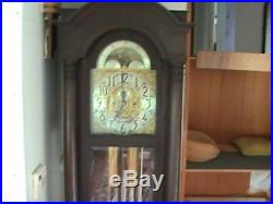 1916 Antique Presidential Grandfather Clock good condition sounds beautiful