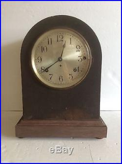 1918 Seth Thomas Westminster Sonora Chime Mantle Clock No 11, Works