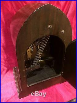 1920 SETH THOMAS CATHEDRAL GRAND CHIME No 72 WESTMINSTER CLOCK! NO RESERVE