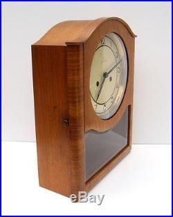 1920s Junghans Westminster Chime Kienzle era Art Deco Mantle Clock -Works, Video