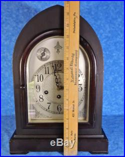 1920s SETH THOMAS No. 72 Westminster Chime Beehive Cathedral Mantel Clock- Works