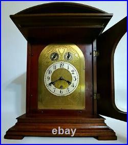 1926 GUSTAV BECKER P18 Quarter Hour Westminster Chime Bracket Mantel Shelf Clock
