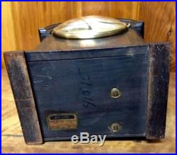 1928 Seth Thomas Westminster Chime Clock #96 Antique Clock In Rubbed Mahogany