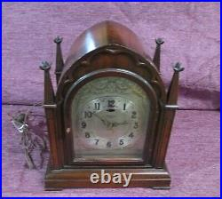 1930 TELECHRON REVERE clock TWO CHIME Westminster Canterbury CHIME R430 GOTHIC