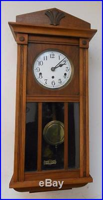 1930s westminster chimes wall clock