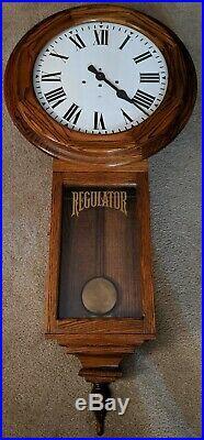 1977 Gazo Old Town Regulator Pendulum Wall Clock Westminster Chimes