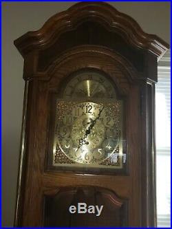 1989 Howard Miller Grandfather Clock
