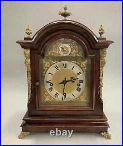 19th c German Bracket Clock with Westminster Chime circa 1880