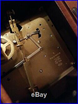 36 Oak Wall Clock Westminster Chime Franz Hermle Movement Germany by Ridgeway