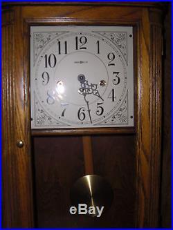 613-108 Howard Miller W. German Works Sandringham WESTMINSTER CHIME WALL CLOCK