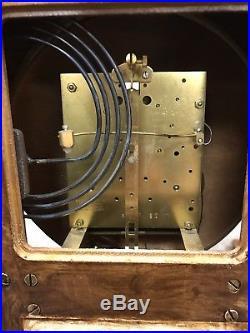 613-485 Howard Miller Westminster Chimes Pendulum & Brass Weigh Wall Clock Work