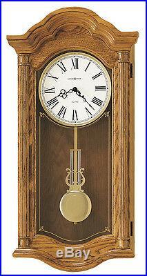 620-222 Howard Miller Dual Chime Wall Clock Lambourn II 620222