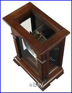 630-266 Emporia Mechanical Howard Miller Mantle Clock -cherry Bordeaux Finish