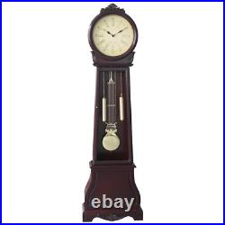 72 Tall Traditional Grandfather Clock Vintage Westminster Chime Pendulum Cherry