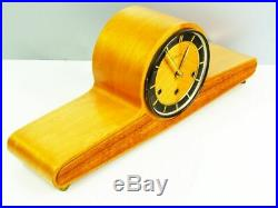 A Dream Later Art Deco Mauthe Westminster Chiming Mantel Clock From 50´s