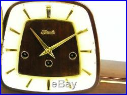 A Dream Later Art Deco Westminster Chiming Mantel Clock Hermle Germany