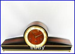 A Dream Later Art Deco Westminster Chiming Mantel Clock Urgos Germany