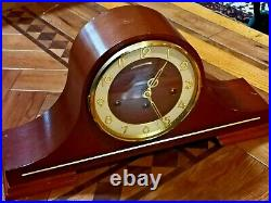 A Superb Vintage Analogue Franz Hermle Mantle Clock 340-020, Westminster Chime