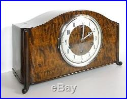 A Top Quality H. A. C Westminster, Whittington Chiming Mantle Clock Superb