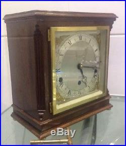 Antique Double Chime Mahogany Elliott Clock Westminster Whittington