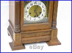 Antique German Junghans A07 Westminster Chime Mantel Shelf Clock