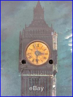 Antique Musical Big Ben Picture Clock 1 4 Westminster