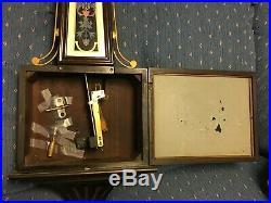 ANTIQUE NEW HAVEN WASHINGTON WESTMINSTER CHIME BANJO CLOCK c 1923