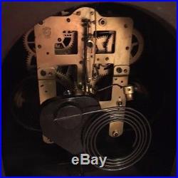 Antique Vintage Seth Thomas Mantle Shelf Westminster Chime Clock! Old