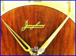 Art Deco Junghans 2 Melodies Westminster And Whittington Chiming Mantel Clock