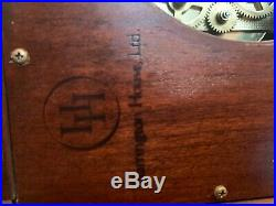 Amazing Rare Harrington House Key Wind Westminster Chime Wall Clock Excellent