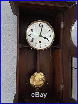Anique Junghans Henry II style Westminster chime wall clock not Odo