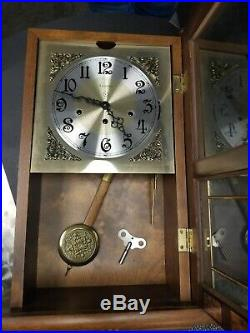 Ansonia Wall Clock Model 856 Westminster Chimes