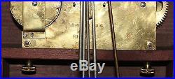 Antique 1920s Mahogany KIENZLE MANTEL BRACKET CLOCK Westminster CHIME Ser# 9,444