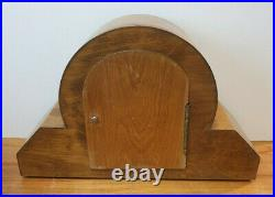 Antique 1930s Haller Art Deco Mantel Clock with Westminster & Whittington Chime